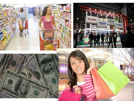 Living and spending Consumer Society consumer - is a person who buys goods or services for their own use Explain the words and words combinations: shopaholic.