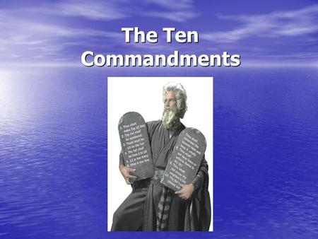 The Ten Commandments. Our Story begins in Egypt… Egypt was ruled by kings called Pharaohs Egypt was ruled by kings called Pharaohs Pharaohs were seen.