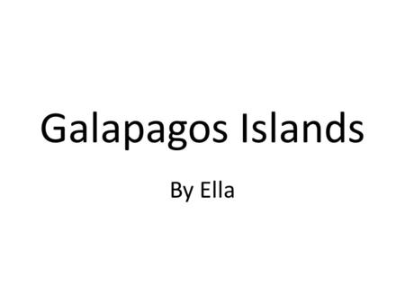 Galapagos Islands By Ella. Isla Pinta Being a tiny island, Isla Pinta is just 60 sq kilometres in area and is home to swallow tailed gulls, marine iguanas,
