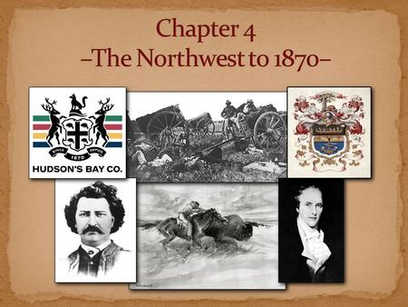 The Métis As the North West Company pushed westward, the hivernants were forced to winter in their trading areas. Fur traders married daughters of Native.