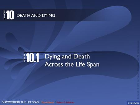 Defining Death: Determining the Point at Which Life Ends Death Education: Preparing for the Inevitable?
