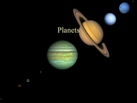 Planets. What's in Our Solar System? The Sun The Sun's age is about 5 billion years. Its energy comes from nuclear fusion (where hydrogen is converted.