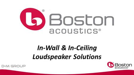 In-Wall & In-Ceiling Loudspeaker Solutions. The letters are the product family VSi …top-of-the-line performance and technology HSi …80%+ of VSi performance,