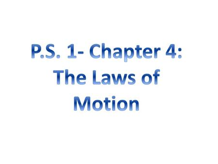 A. Newton's Laws Sir Isaac Newton (1642–1727)  able to state rules that describe the effects of forces on the motion of objects I. The First 2 Laws of.