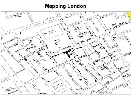 Mapping London. Software examples MapInfo Arc GIS- Same functionality as MapInfo Instant Atlas MapQuest and others Improve data visualization Enhance.