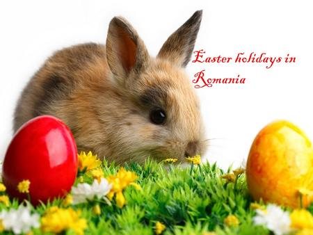 Easter holidays in Romania. Easter is celebrated with great zeal and enthusiasm throughout the world. On the occasion of Easter, the Christian community.