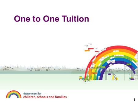 One to One Tuition 1. Agenda  Big picture  Paying Tutors  H.R.Issues  Data Input and Collation  Networking.
