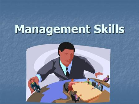 Management Skills. What is Management???? The process of achieving company goals by effective use of resources; involves Planning, Organizing, and Controlling.