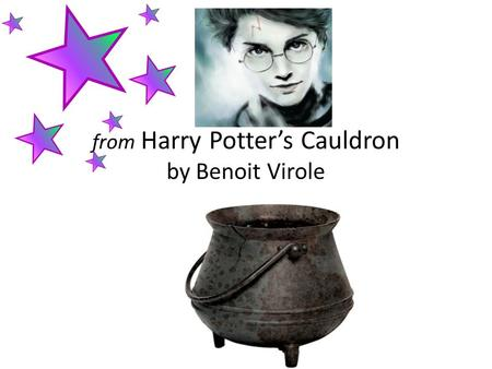 from Harry Potter's Cauldron by Benoit Virole Critical Essay It is a writing style. It is a writing style that gives an evaluation or analysis of a piece.