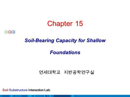 Chapter 15 Soil-Bearing Capacity for Shallow Foundations