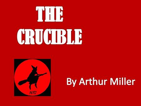 The word 'crucible' means: a porcelain container used for melting a substance that requires a high degree of heat A severe test OR.
