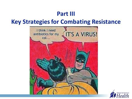 Part III Key Strategies for Combating Resistance.