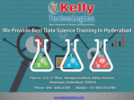Www.kellytechno.com. Data Science Interview Questions 1.What do you mean by word Data Science? Data Science is the extraction of knowledge from large.
