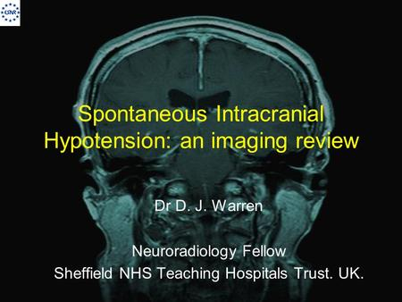 Spontaneous Intracranial Hypotension: an imaging review
