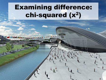 Examining difference: chi-squared (x 2 ). When to use Chi-Squared? Chi-squared is used to examine differences between what you actually find in your study.