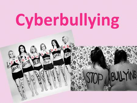 Cyberbullying. What is Cyberbullying? Cyberbullying is is bullying that takes place using electronic technology such as cell phones, computers, and tablets.