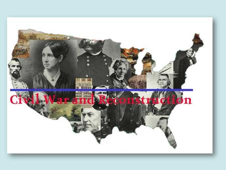 RECONSTRUCTION  After the Civil War the nation had to be REUNITED AND REBUILT  Lincoln's plan was very lenient towards the South- wanted the country.