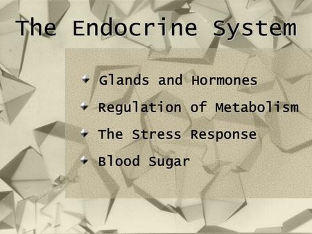 hormonal regulation of stress Stress and neuroimmune regulation of gut mucosal function  including goblet  cells (secrete mucus), endocrine cells (secrete hormones and neuropeptides),.