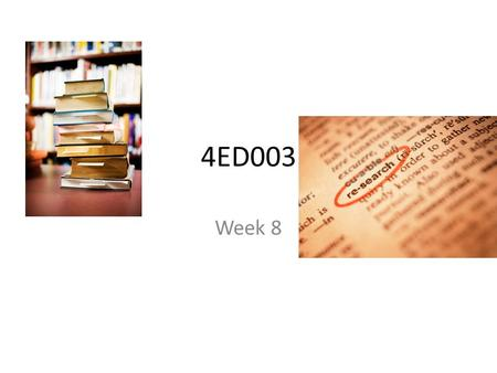 4ED003 Week 8. Summative Assignment 2 Semester 2 Summative assignment (1000 words) A reflective evaluation on semester 2 - it should include a discussion.