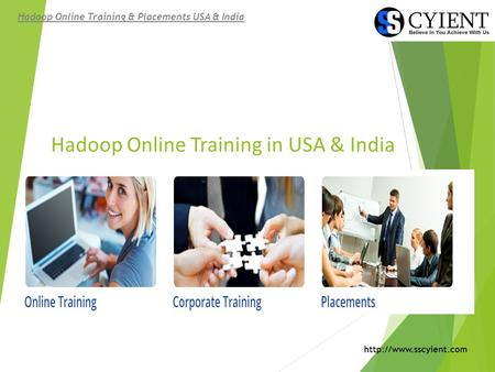 Hadoop Online Training in USA & India Hadoop Online Training & Placements USA & India