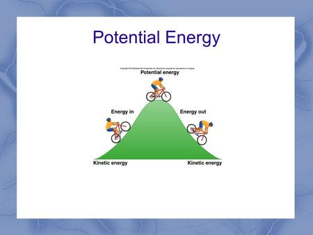Potential Energy. Batteries A battery is an electrochemical cell that can change chemical energy to electrical energy The chemicals in the battery pull.
