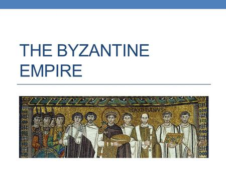 "THE BYZANTINE EMPIRE. Understand why Constantinople became known as the ""New Rome."" Summarize the ways in which the Byzantine empire flourished under."