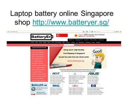 Laptop battery online Singapore shop