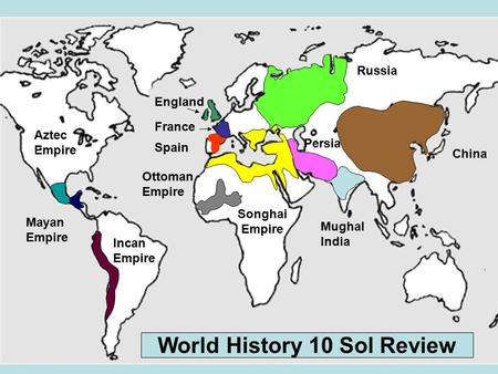 World History 10 Sol Review