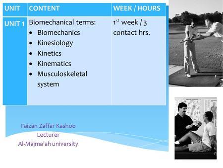 Kinesiology terminology