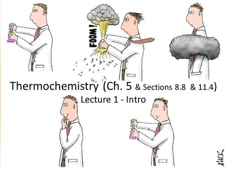 © 2009, Prentice-Hall, Inc. Thermochemistry (Ch. 5 & Sections 8.8 & 11.4 ) Lecture 1 - Intro.