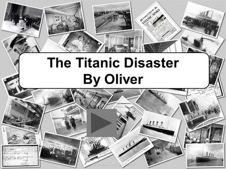 The Titanic Disaster By Oliver. Contents Facilities Onboard Maiden Voyage Construction Iceberg Collision The Sinking Survivors.