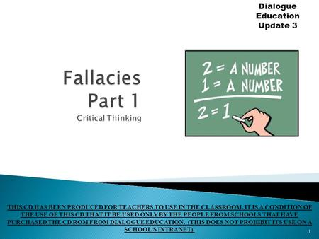 critical thinking fallacies ppt Introduction to critical thinking july 2016 by: raji thomas.