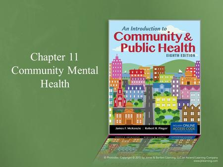 Chapter 11 Community Mental Health