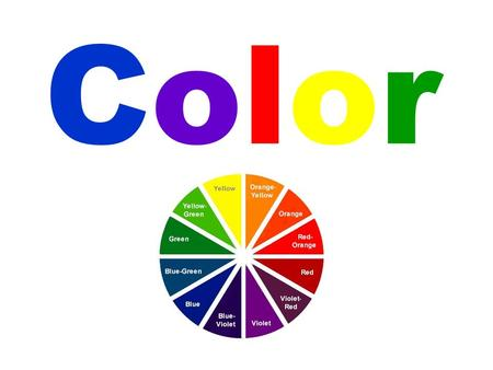 ColorColor. ColorColor Color is often called the most significant of all decorating tools. Color affects how people feel. It can evoke specific memories.