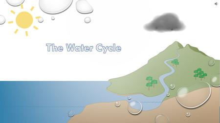 It's in our lakes, rivers and oceans Water is continually moving around us through a process called the Water Cycle. It's even found in plants and animals,