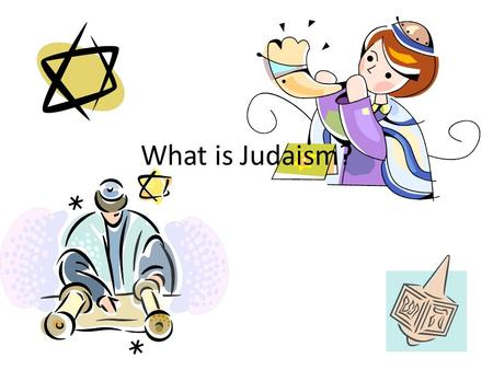 What is Judaism?. History The Bible says that God promises ABRAHAM that his descendents will make a might nation. Abraham settles in CANAAN, but they.