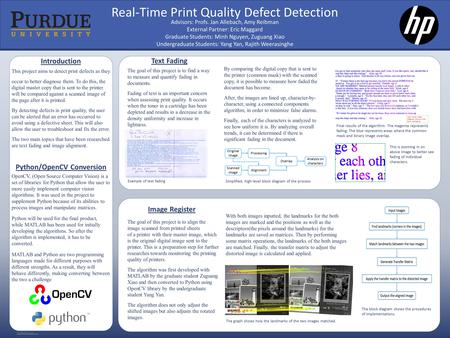 RESEARCH POSTER PRESENTATION DESIGN © 2015 www.PosterPresentations.com (—THIS SIDEBAR DOES NOT PRINT—) DESIGN GUIDE This PowerPoint 2007 template produces.