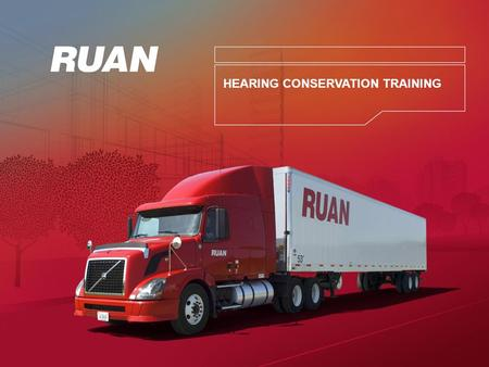 HEARING CONSERVATION TRAINING. +Protecting Employees from Hearing Hazards.