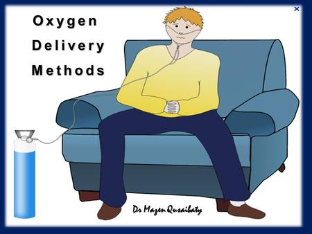 Oxygen Delivery Methods Dr Mazen Qusaibaty. 2 Is to maintain : Is to maintain : PaO 2 >8 kPa (60 ) PaO 2 >8 kPa (60 mmHg ) or or SpO 2 > 90% SpO 2 >