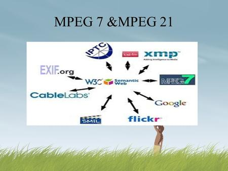 MPEG 7 &MPEG 21. Contents  Why MPEG 7?  Objective of MPEG 7  MPEG 7 for Content description  Advantage & Disadvantage of MPEG 7  Application area.