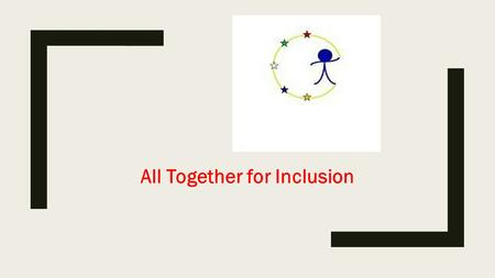 All Together for Inclusion. FLIPPED CLASSROOM By claudio desiderio (wikipedia selection)