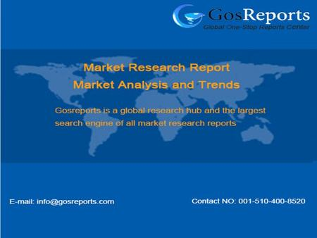 "Global Oilfield Equipment Industry 2016 Market Research Report ""2016 Global Oilfield Equipment Industry Report is a professional and in-depth research."