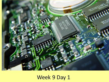 Week 9 Day 1. Units to be measured and calculated VoltageVoltsV or E ResistanceOhmsR or Ω Current AmpsI or A PowerWattW or P.
