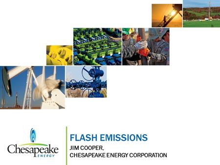 FLASH EMISSIONS JIM COOPER, CHESAPEAKE ENERGY CORPORATION.