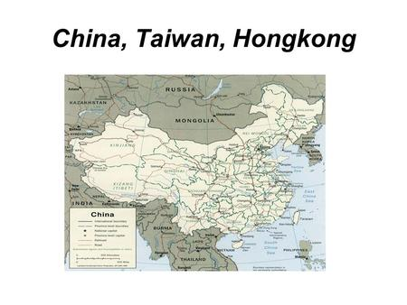 China, Taiwan, Hongkong. 中國 (China) China's Official Name.