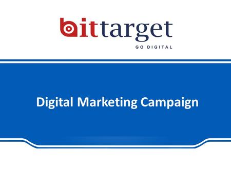 Digital Marketing Campaign. |  What's included: 1.Search Engine Optimization Plan 2.Social Media Marketing Plan 3.Advert.