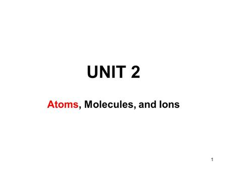 1 UNIT 2 Atoms, Molecules, and Ions. 2 The Power of 10  nceopticsu/powersof10/