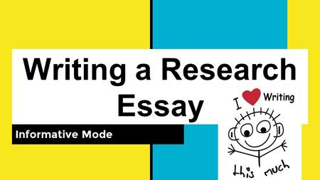 specific type of essay