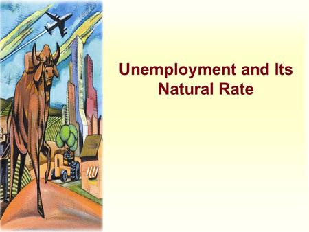 Unemployment and Its Natural Rate. Categories of Unemployment u The problem of unemployment is usually divided into two categories. u The long-run problem.