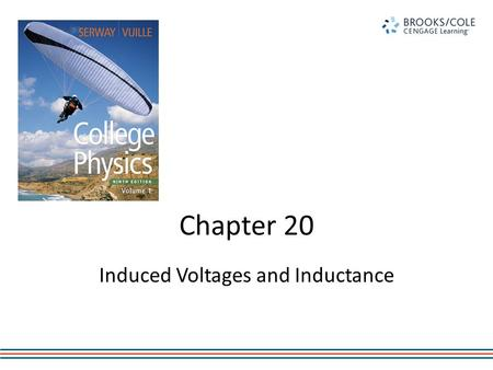 Chapter 20 Induced Voltages and Inductance. Connections Between Electricity and Magnetism 1819 – Hans Christian Oersted discovered an electric current.